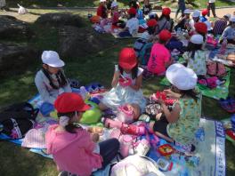 札幌市立白石小学校-6月16日遠足①(3・4年・たけのこ)